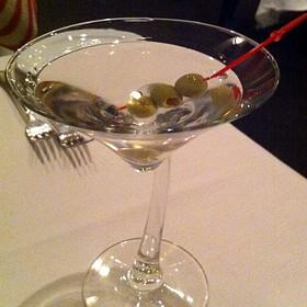 Bombay Sapphire Martini  - Chef's Table, Orem, UT