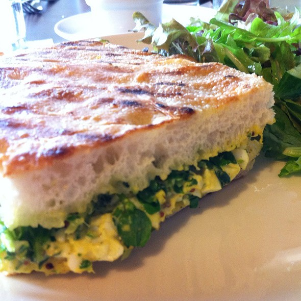 Curry Egg Salad Sandwich @ Downtown @ the HiSam