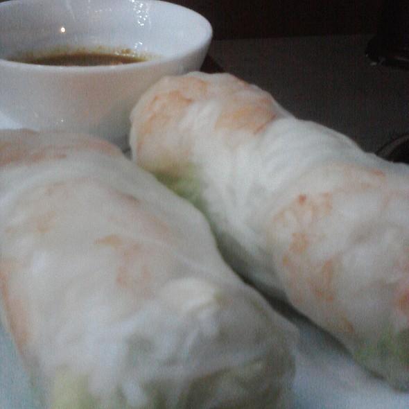 summer rolls @ Alesia Restaurant