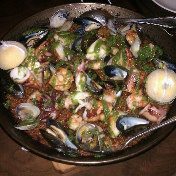 Seafood Paella @ Boqueria Soho