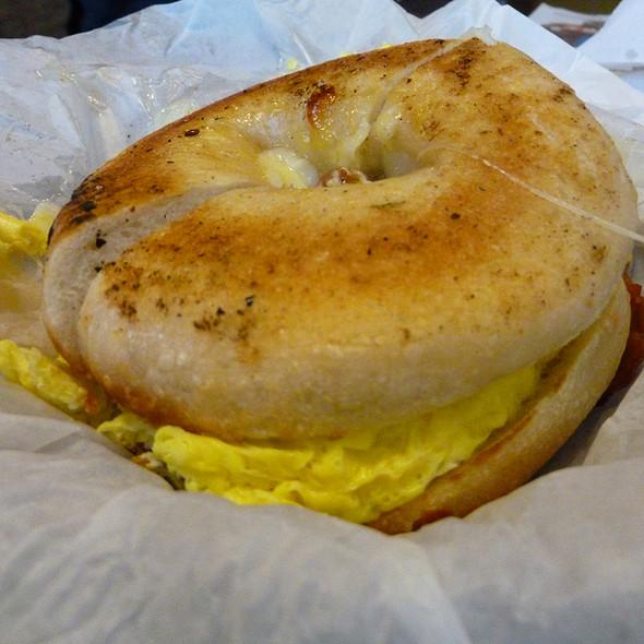 Breakfast Bagel @ New York Bagel Deli