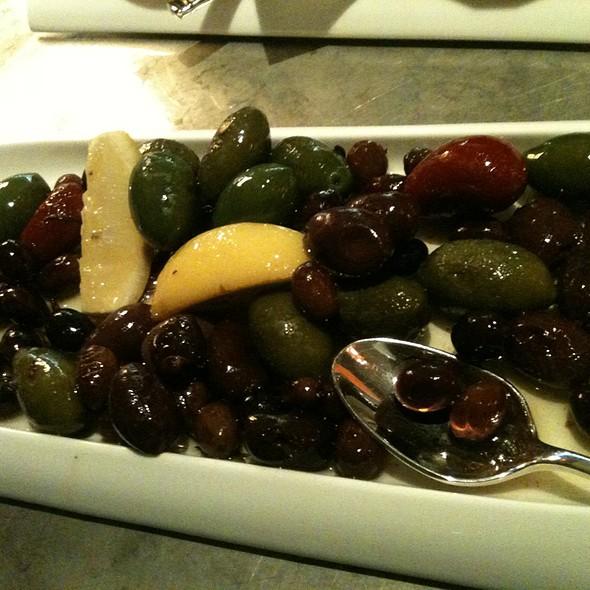 Warm Assorted Olives - Ritz Bar - Ritz Carlton Toronto, Toronto, ON