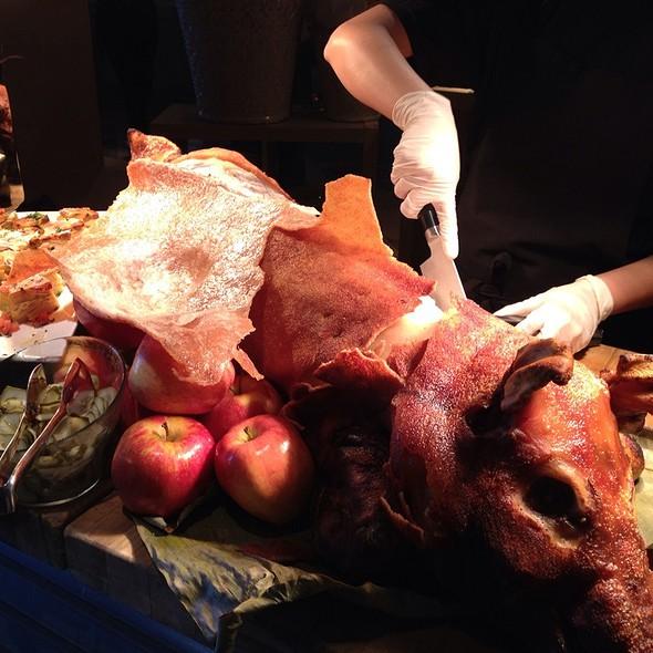 Lechon Asado (slow roasted pork) @ Edge, Steak & Bar