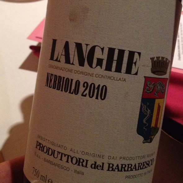 Wine Barbaresco 2010