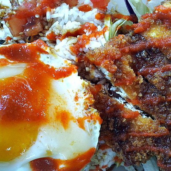 Chicken Katsu with Egg @ Cucina Zapata
