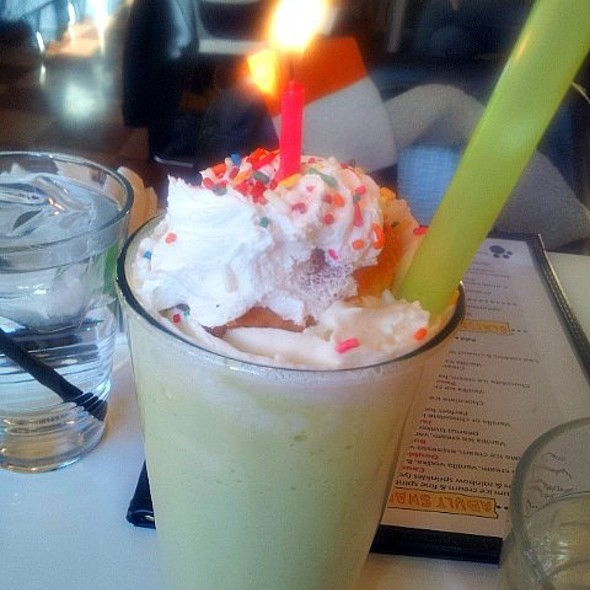 Birthday Cake Adult Milkshake @ PYT