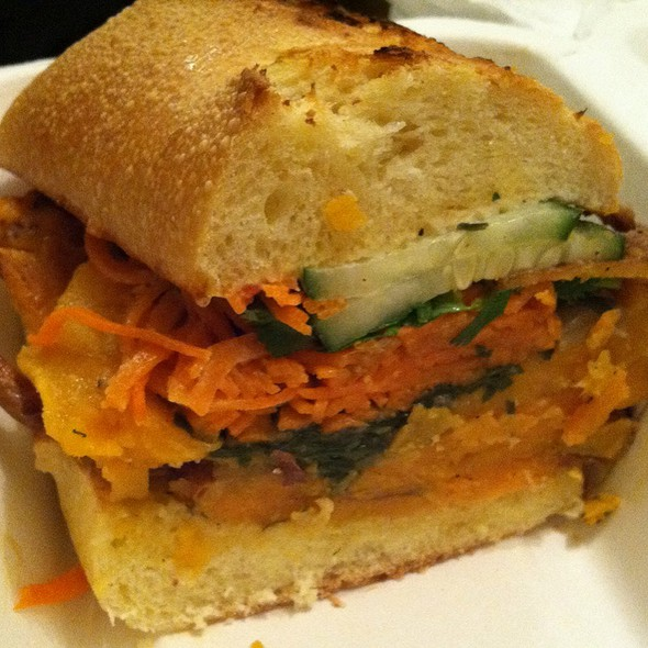 Roasted Salt & Pepper Japanese Yam Sandwich