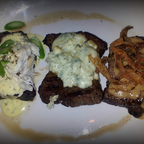 Filet Trio - Sullivan's Steakhouse - Indianapolis, Indianapolis, IN