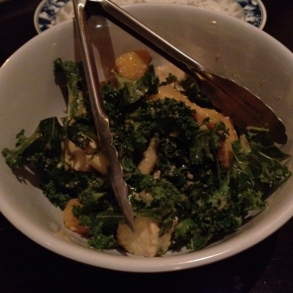 Kale, Squash And Tofu Salad @ Talde