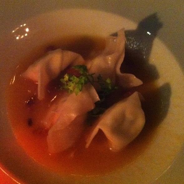 Chinese Ravioli - Chez Josephine, New York, NY