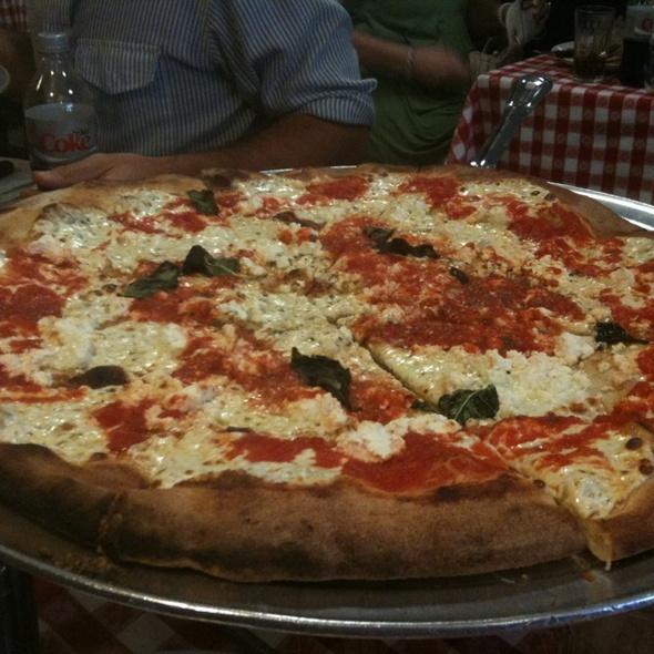 Pizza w/ Ricotta @ Grimaldi's Pizzeria