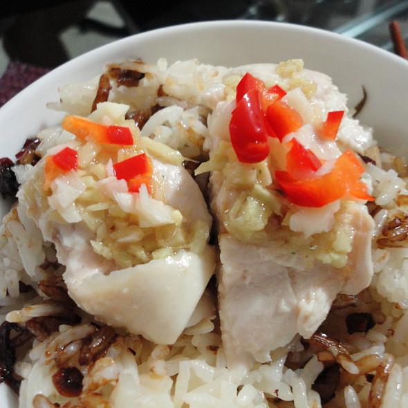 Hainan Chicken @ Chef's Home