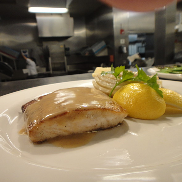 Roasted Local Fluke, Lemon Brown Butter