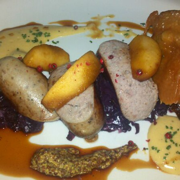 Foie gras boudin blanc @ Cure pittsburgh