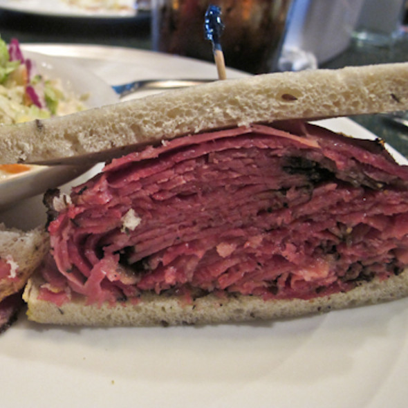 Hot Pastrami Sandwich @ Katella Deli-Restaurant