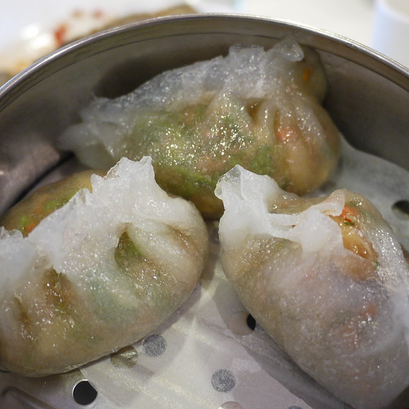 Chaozhou Steamed Dumpling With Peanut @ King Hua Restaurant