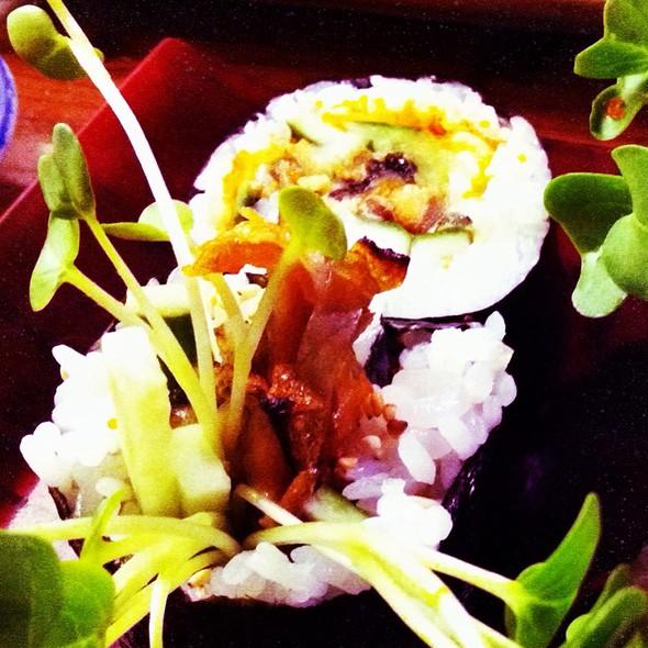 Salmon Skin Roll @ Koharu Japanese Restaurant
