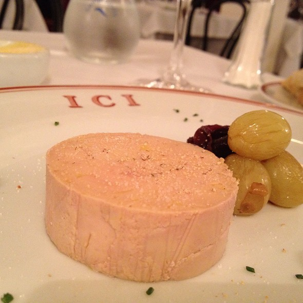 Foie Gras Au Torchon @ Ici Bistrô