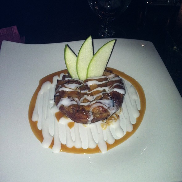 Apple Pie Bread Pudding - The Vineyard Wine Bar, Havre De Grace, MD