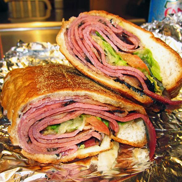Pastrami Sandwich @ Westside Coffee Shop II