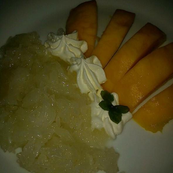 Mango Sticky Rice @ Siri's Chef's Secret Restaurant