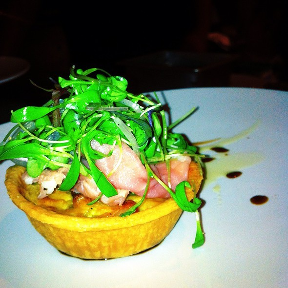 Shrimp Tart @ The Lawrence