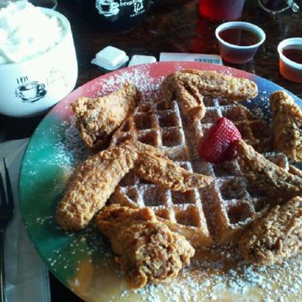 Chicken Wings And Waffles