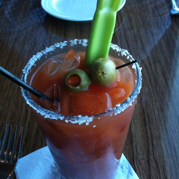Bloody Mary - Moss Beach Distillery, Moss Beach, CA