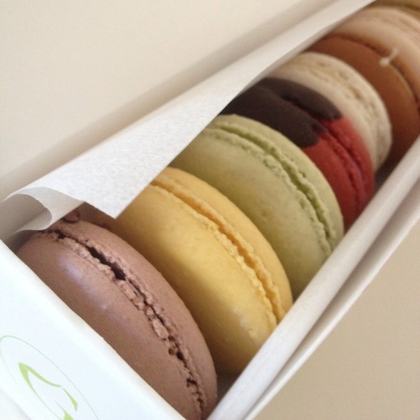 Assorted Macarons @ Chantal Guillon