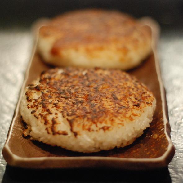 Miso-Grilled Musubi @ Izakaya Nonbei