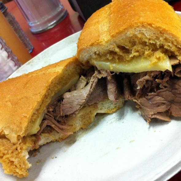 French Dip Sandwich @ Philippe's French Dip Restaurant
