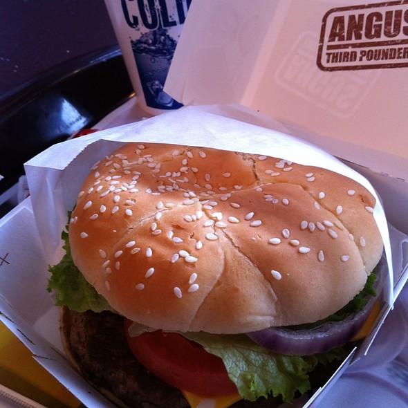 Angus Burger @ McDonald's