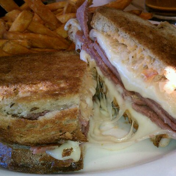 Reuben Sandwich - Reds at Sedona Rouge Hotel & Spa, Sedona, AZ