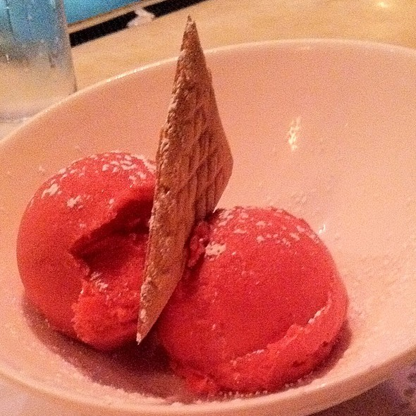 Raspberry Sorbet - Sotto Sopra, Baltimore, MD