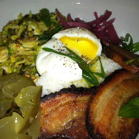 Pork Belly, Egg and Rice @ Saigon Sisters