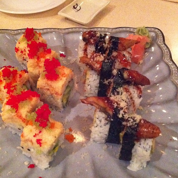 Godzilla And Grand Canyon Roll @ Take Sushi