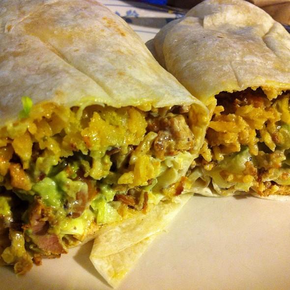 Grilled Chicken Burrito At Taqueria El Patio Mexicano