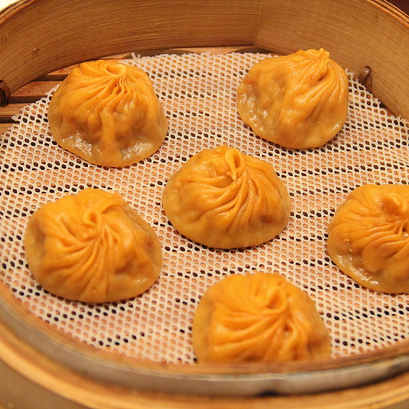 spicy xiao long bao @ Jin Din Rou