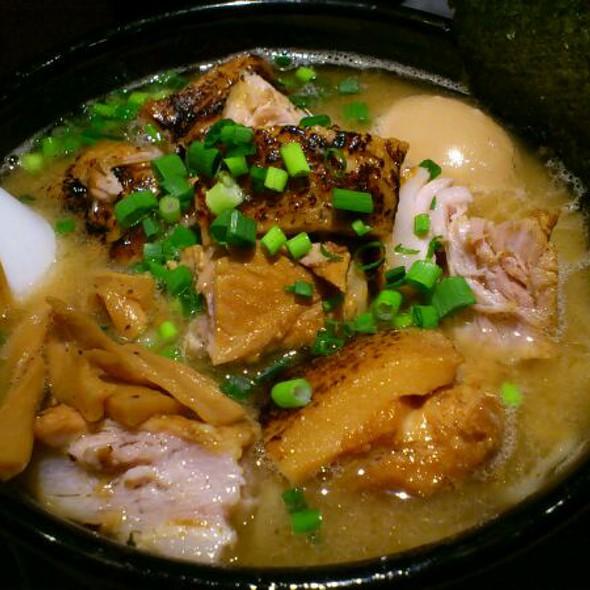肉盛り味玉ら~麺 @ 麺屋武蔵 武仁