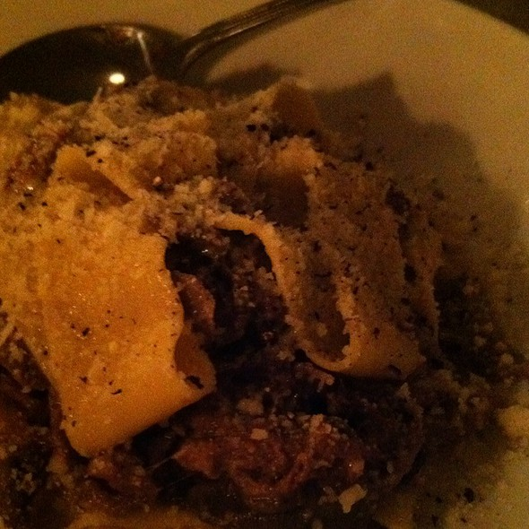 Pappardelle With Blonde Beef Ragout @ Romans
