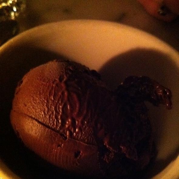 Salted Chocolate Gelato @ Romans