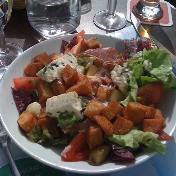 Serrano Salad @ Cafe Daguerre