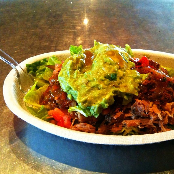 Barbacoa And Carnitas Salad @ Chipotle Mexican Grill - Belz