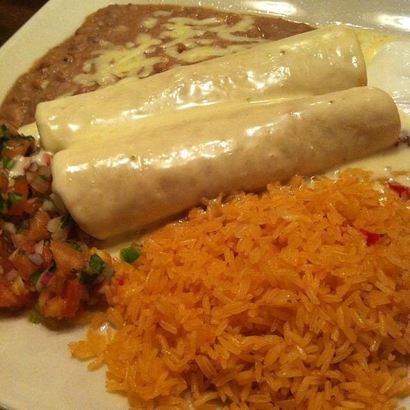 Beef and Chicken Chimichangas