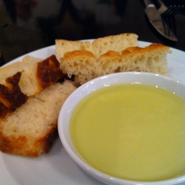 Bread And Olive Oil @ Osteria Venti