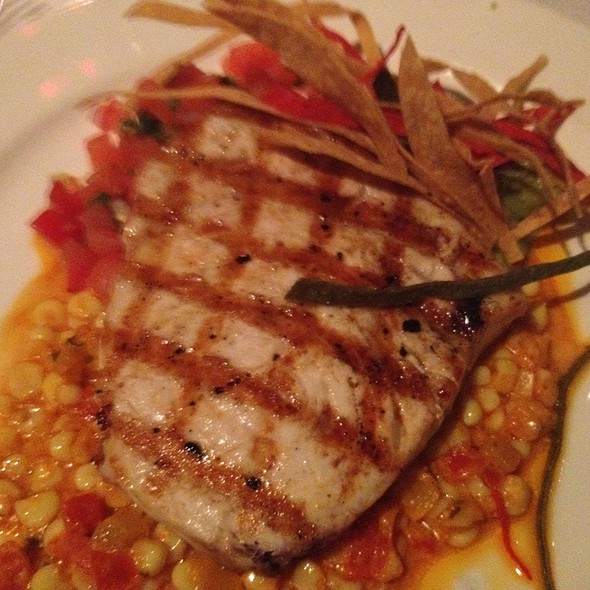 Grilled Swordfish - Pacifica Seafood Restaurant, Palm Desert, CA