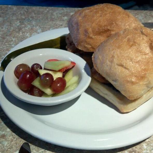 Chicken Caprese Sandwich @ River City Deli