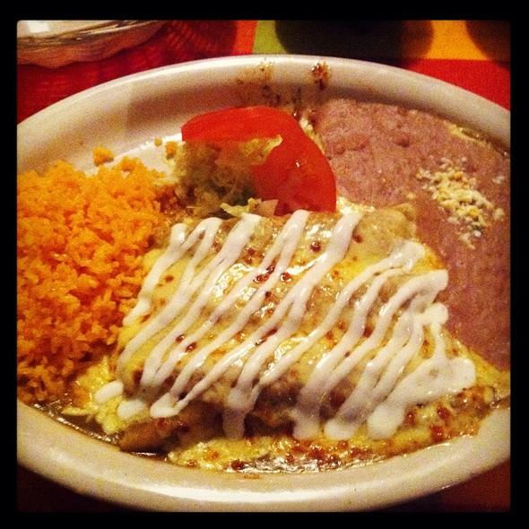 Enchiladas Verdes @ Los Nopales Mexican Restaurant