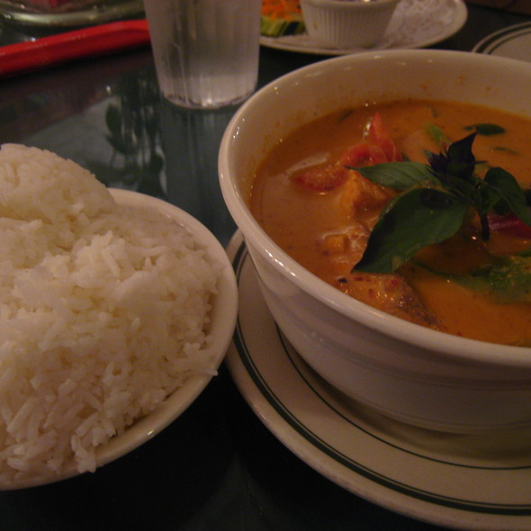 Pla Panang (Fish Curry) @ Bangkok Garden