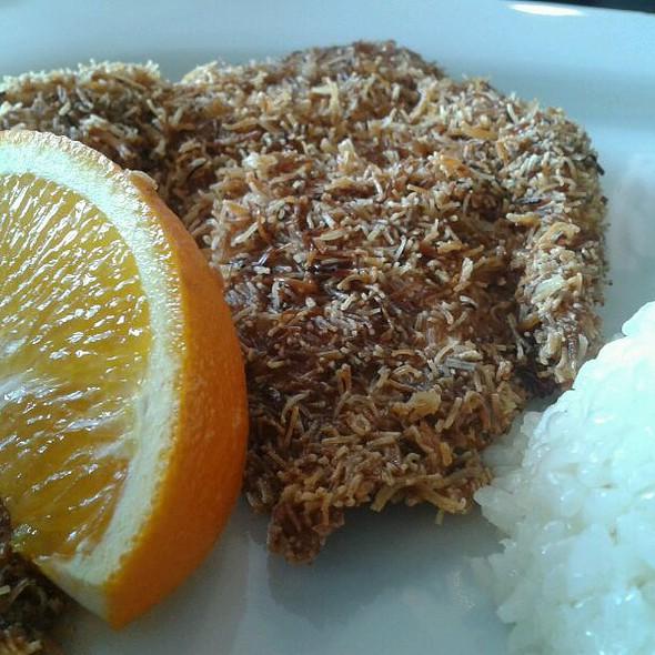 Chicken Schnitzel @ Mio Cucina Cafe